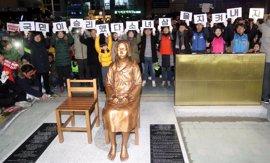 Seúl pide ayuda a Busan para resolver el 'impasse' con Japón por la estatua de las 'mujeres de confort'