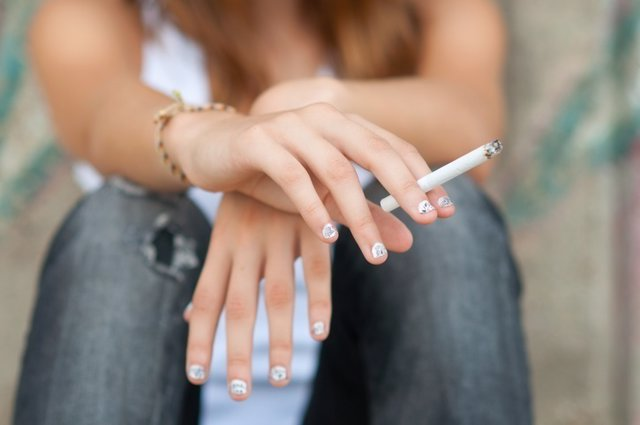 Adolescente, tabaco