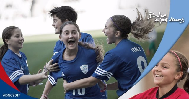 La Danone Nations Cup incorpora una Final Mundial íntegra femenina