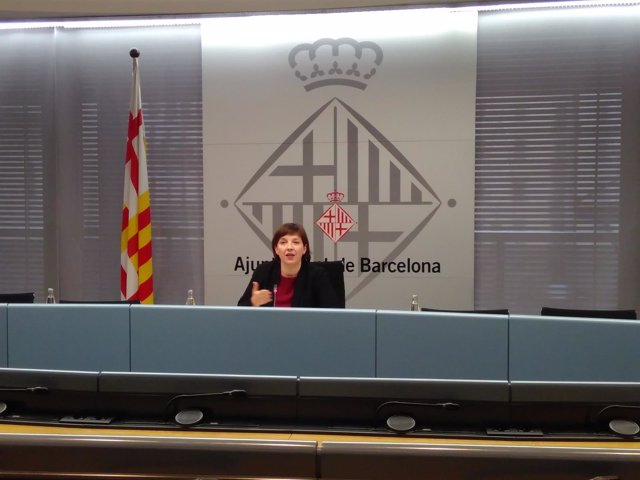 La tercera teniente de alcalde de Barcelona, Laia Ortiz