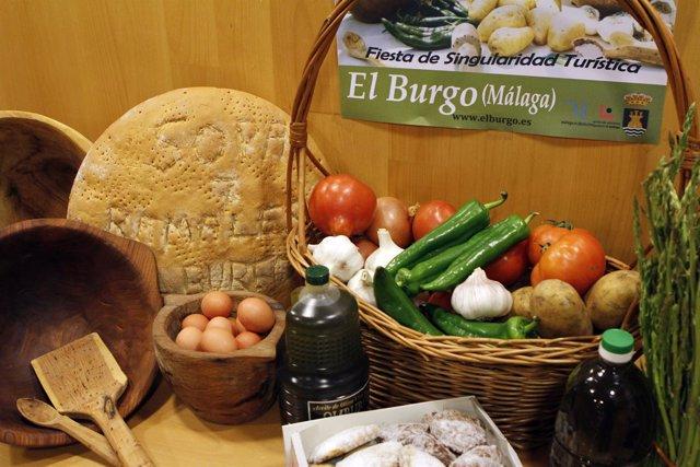 Productos El Burgo sopa de los siete ramales fiesta singularidad turismo gastron
