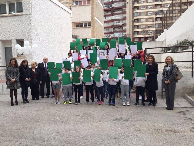 Actos con motivo del Día de Andalucía en el colegio Nuevo Gran Eje.
