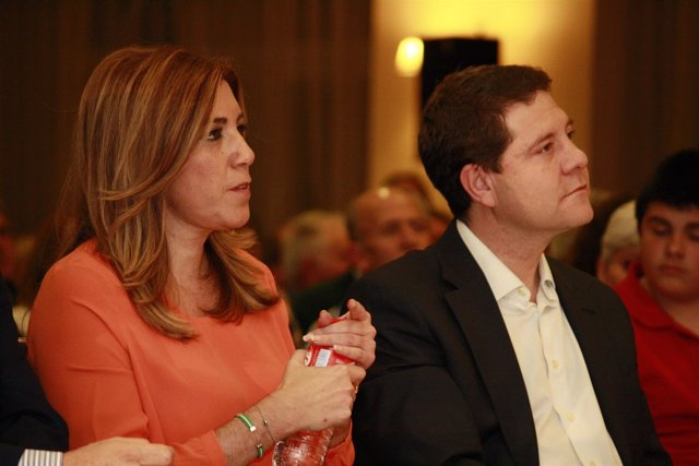Emiliano García-Page y Susana Díaz