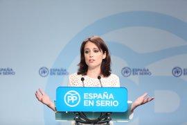"""El PP ve """"nervioso"""" al Gobierno catalán y en """"permanente discusión y tensión"""""""
