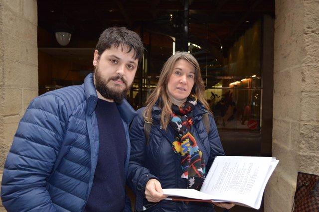 Albert Font-Tarrés y Elisa Solé