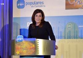 """Buruaga tiene avales necesarios para aspirar a liderar PP cántabro y """"siente"""" el """"respaldo"""" de """"mayoría"""" del partido"""