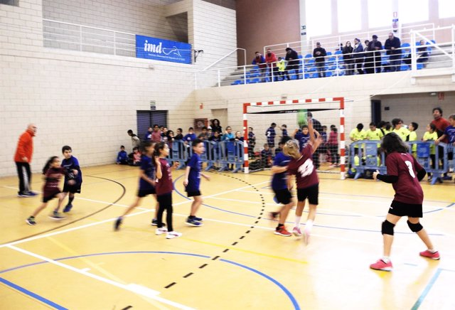 Las Norias, en El Ejido, ha acogido el Encuentro de Promoción del Balonmano.