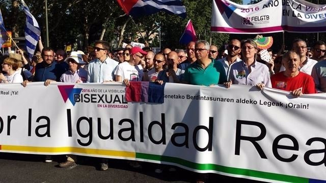 Manifestación del Orgullo Gay del 2 de julio de 2016 en Madrid