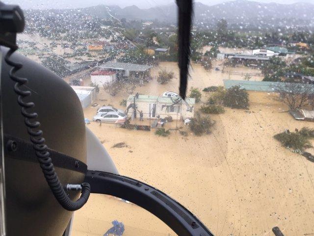 Málaga inundaciones 2016 riadas rescate guadalhorce anegaciones
