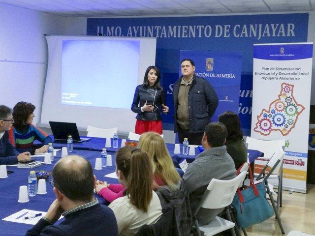 El PDE de la Alpujarra Almeriense se ha estrenado en Canjáyar con interés.