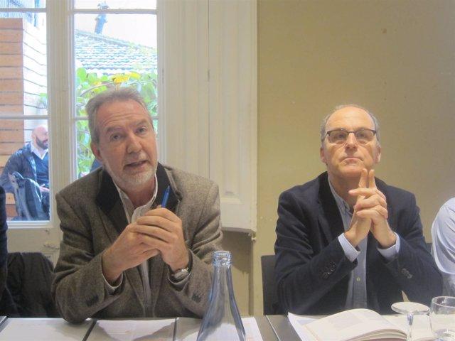 X.Aragay y E.Masllorens, Jesuïtes Educació