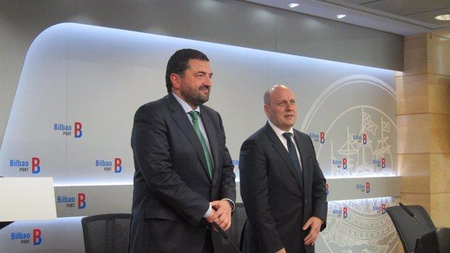 Asier Atutxa, presidente de la Autoridad Portuaria de Bilbao