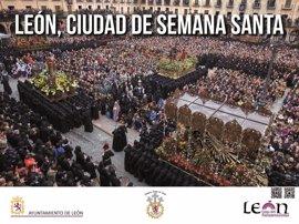 La Semana Santa de León se promocionará en las principales estaciones de Metro de Madrid y Bilbao