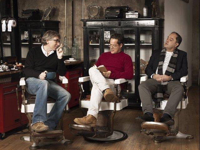 Qué fue de Jorge Sanz con David Trueba, Jorge Sanz y Eduardo Antuña