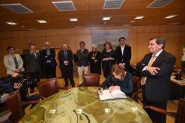 Susana Díaz destaca el papel de la Diputación de Granada en favor de los municipios de la provincia