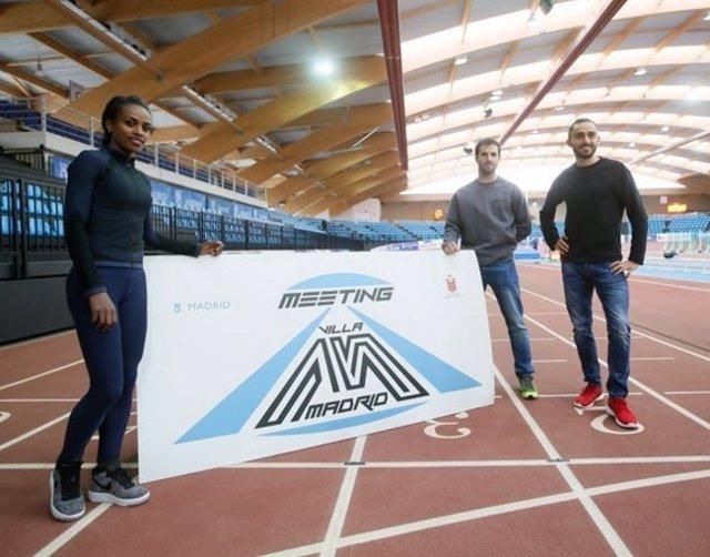 Genzebe Dibaba presenta el Meeting Villa de Madrid
