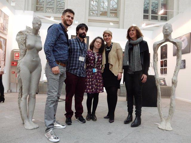 Visita De La Consejera De Cultura Y Portavoz Del Gobierno