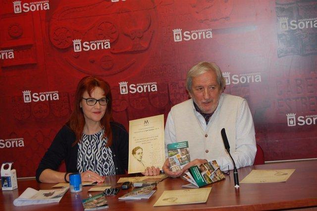 Ana María Calvo y Jesús Bárez.