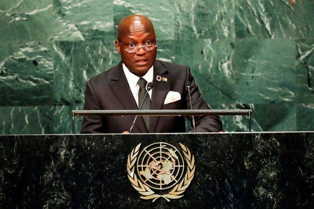 El presidente de Guinea Bissau, Jose Mario Vaz.