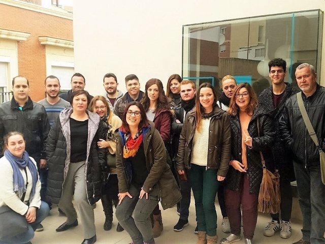Participantes de la lanzadera de empleo