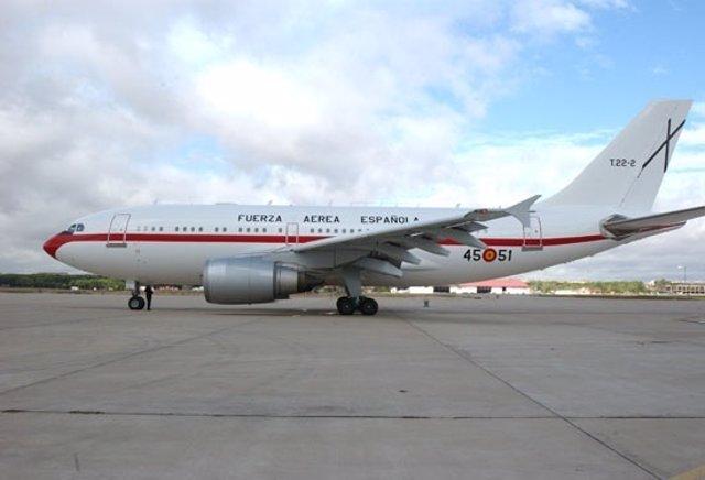 Airbus Del Ejército Del Aire Español Perteneciente Al 45 G
