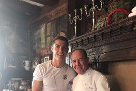 Cristiano Ronaldo se pone las 'botas' en Segovia