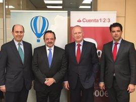 Avalis de Catalunya y Banco Santander aumentan a 50 millones el máximo de las operaciones