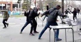 Antiviolencia propone 6.000 euros de multa al aficionado identificado del Alavés que instigó la pelea