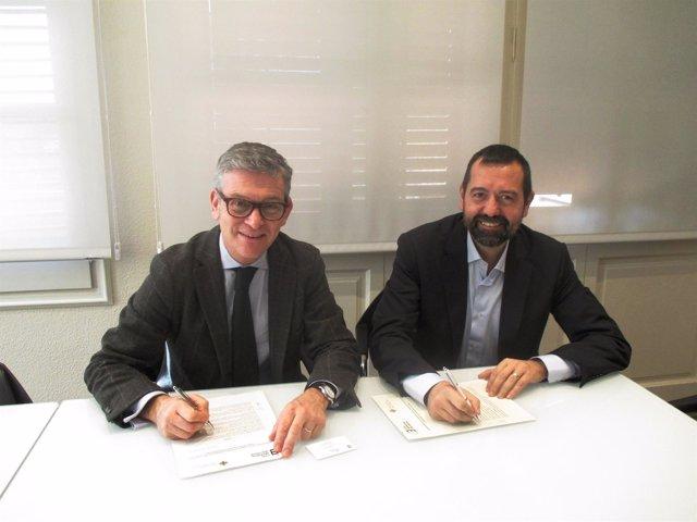 Carlos Pérez del Valle (UAO CEU) y Pep Garcia (CMB)