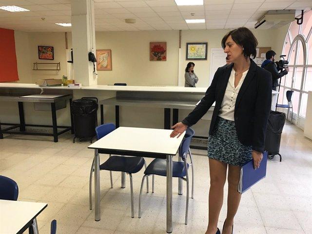 Lourdes Burgos diputación centro discapacitados Guadalmedina