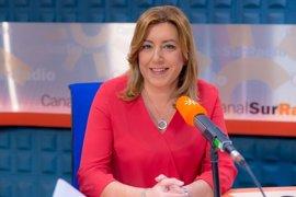 """Susana Díaz afirma que en el PSOE no caben """"debates maniqueos"""" porque todos """"somos socialistas y de izquierda"""""""
