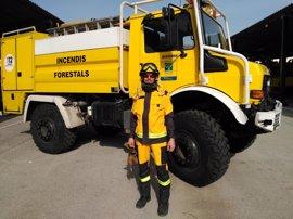 El Ibanat estrena nuevo equipamiento de intervención en incendios forestales