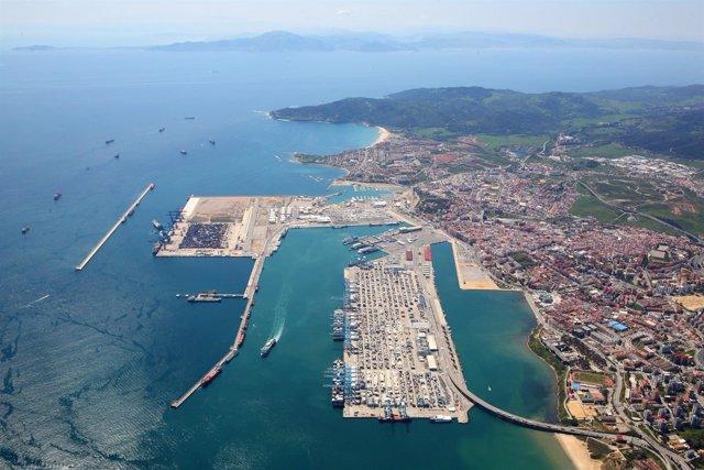 El puerto de algeciras empieza el a o con un incremento del tr fico de mercanc as en enero - Puerto de algeciras hoy ...
