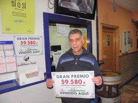 Un acertante de la Lotería Primitiva gana 59.580 euros en Azuqueca de Henares