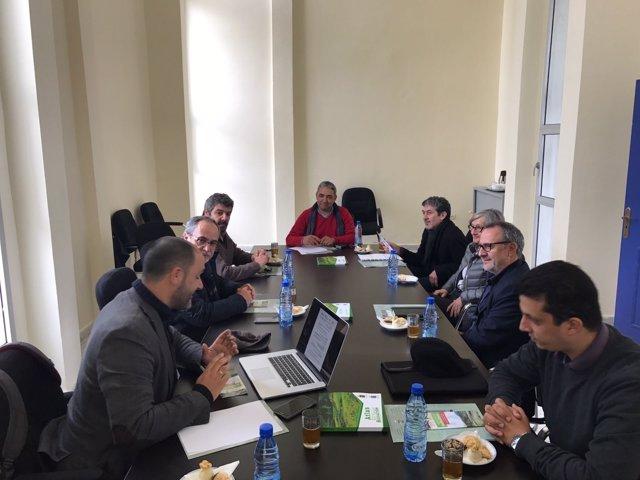 Reunión de personal técnico de Diputación en Marruecos
