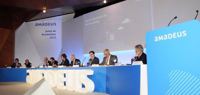 Junta de accionistas de Amadeus de 2015