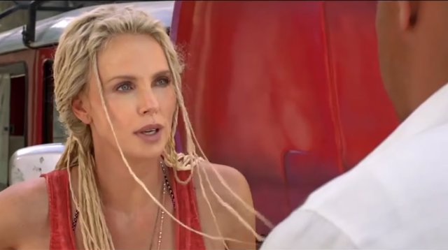 Charlize Theron en Fast and Furious 8