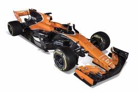 McLaren tiñe de naranja el nuevo MCL32 y extrema su mensaje de prudencia para 2017