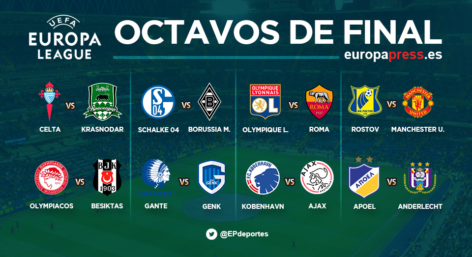 Octavos Europa League