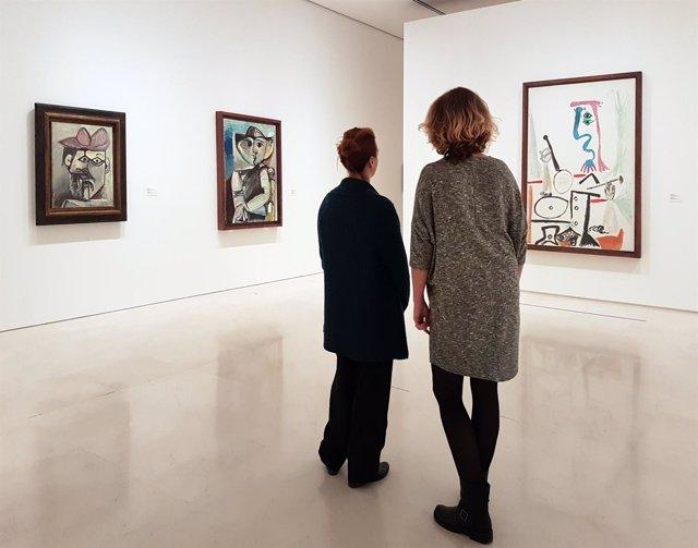 Museo Picasso Málaga cuadros arte cultura exposición visitantes pintura