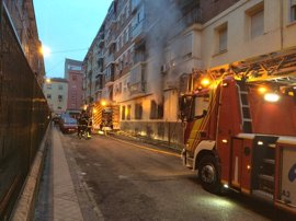 Muere el hombre que sufrió ayer un infarto cuando movía el coche para ayudar en la extinción de un incendio