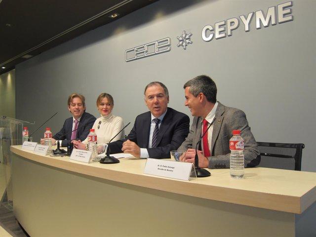 Vidal de la Peña y los alcaldes