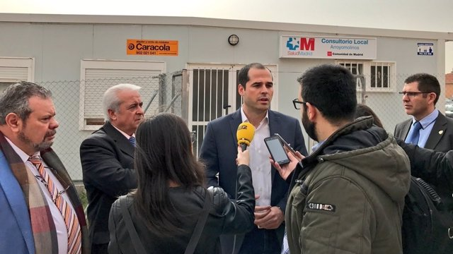 Ignacio Aguado, portavoz de Ciudadanos