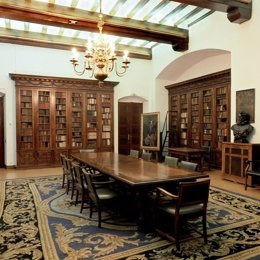 La Biblioteca de Catalunya.
