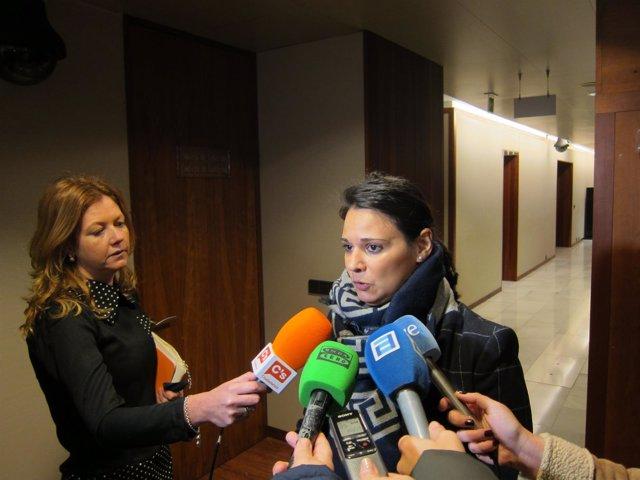 La diputada de Ciudadanos Asturias Diana Sánchez