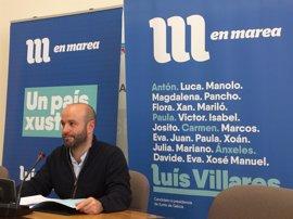 """Villares critica los """"100 días de desgobierno"""" de un """"débil"""" Feijóo que actúa como """"recadero del Gobierno de Madrid"""""""