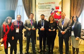 Una aplicación y el portal de Diputación, premiados en el Congreso Nacional de Innovación