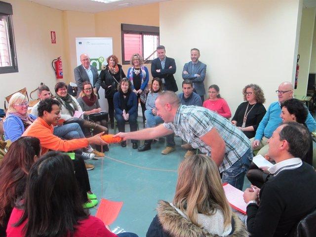 Participantes en la Lanzadera de Empleo de Viator