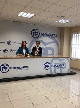 Cristina Tavío y Enrique Hernández Bento