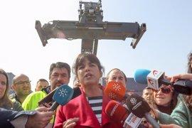 Teresa Rodríguez ve voluntad de Pablo Iglesias para la autonomía de Podemos Andalucía